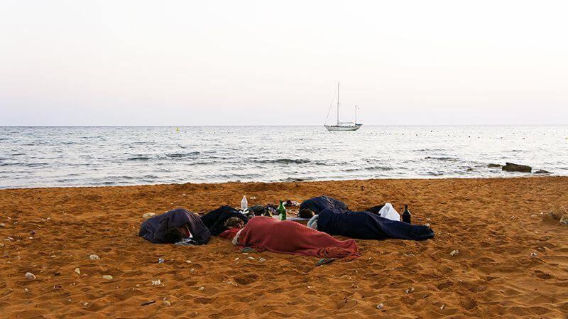 Couchsurfing en Gozo. Malta