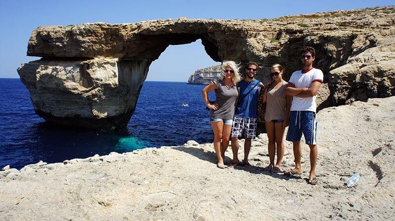 Azure Window. Malta
