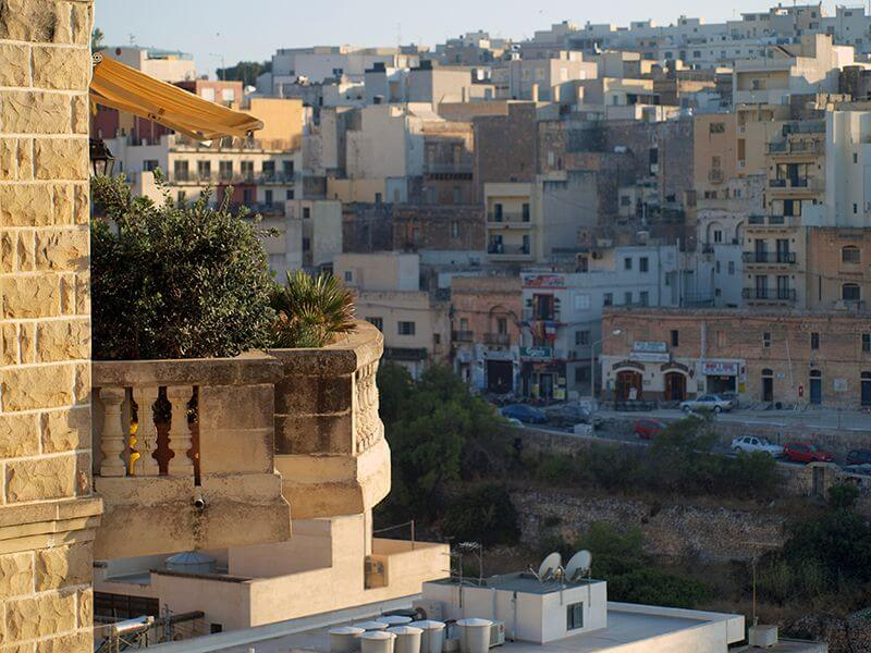 Desde mi balcón en Malta