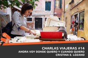 Viaja en mi mochila. Cristina E. Lozano