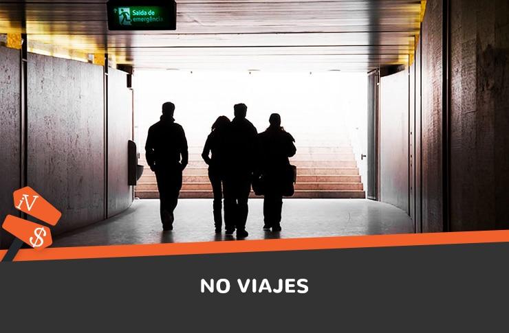 No viajes