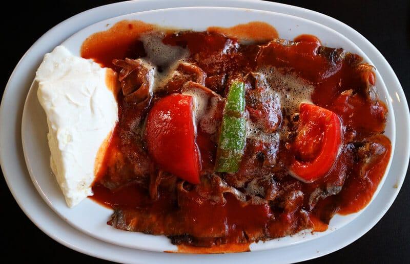 viajar a turquia comida Iskender