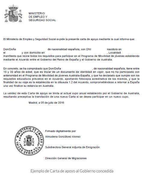 modelo carta de presentacion embajada canada ejemplo carta
