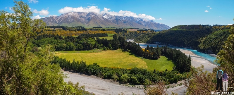 Rakaia Gorge, Working Holiday Visa Nueva Zelanda