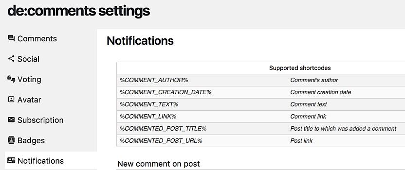 como aumentar comunidad blog notifications