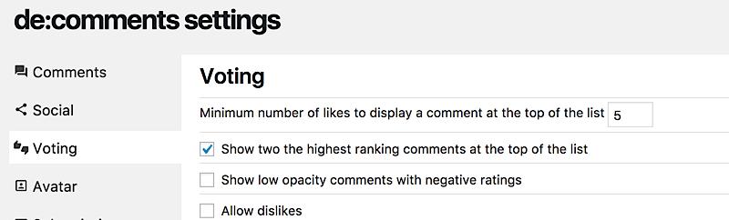 como aumentar comunidad blog voting