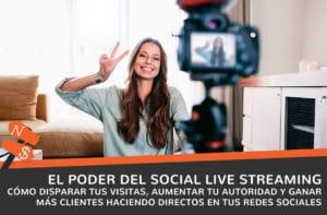 social live streaming en directo