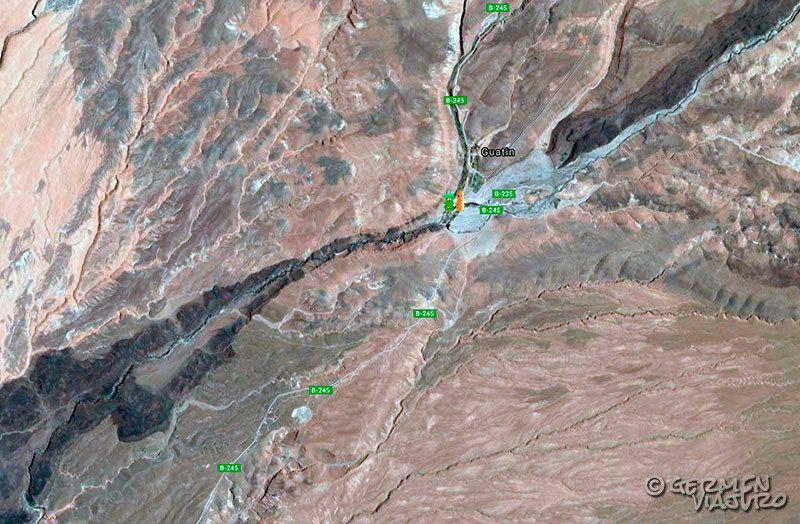 desierto de atacama mapa fisico