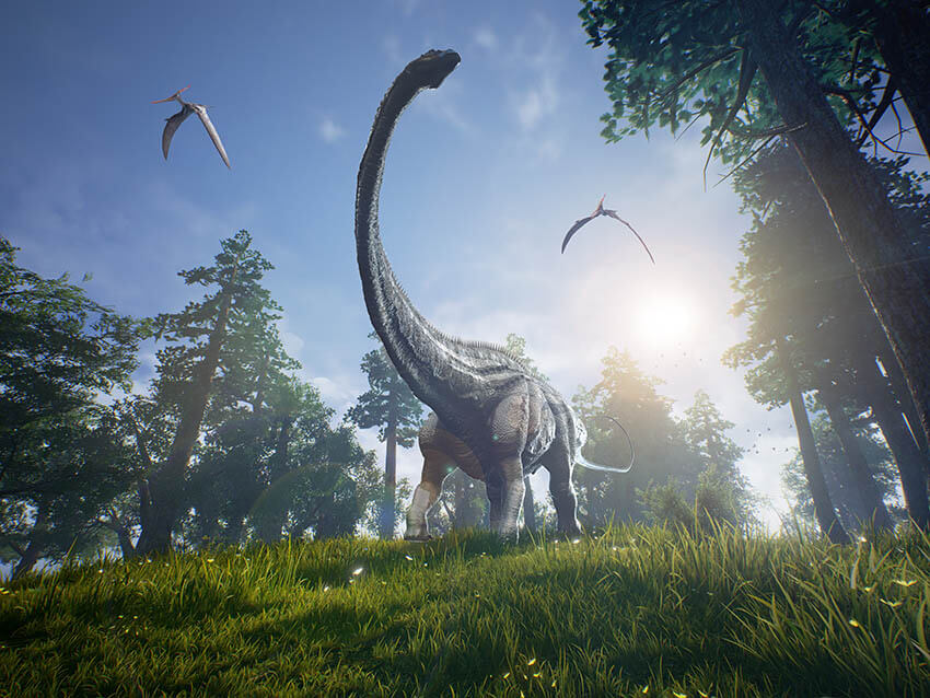 viajar al pasado visitando museos de dinosaurios