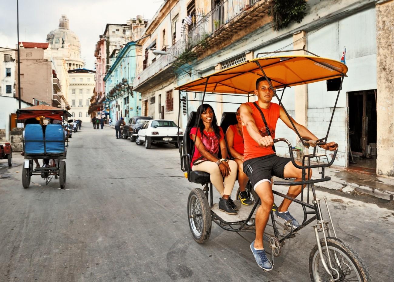 Consejos para viajar a Cuba: El Bicitaxi