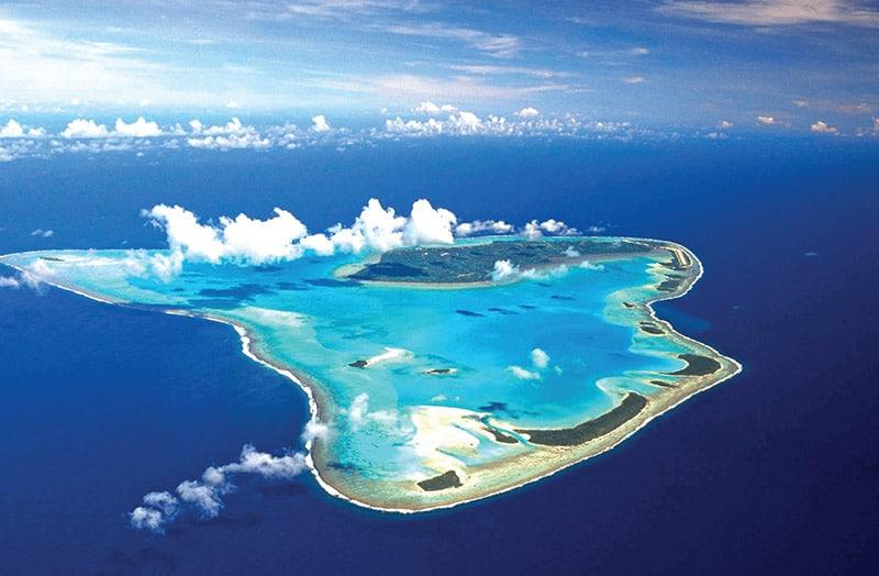 Aitutaki isla