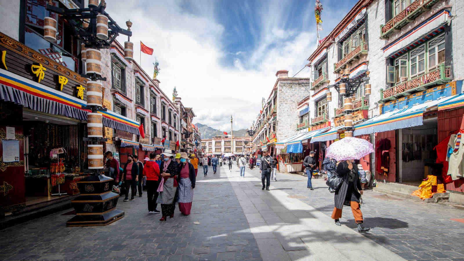 viajar al tibet para ver Lhasa