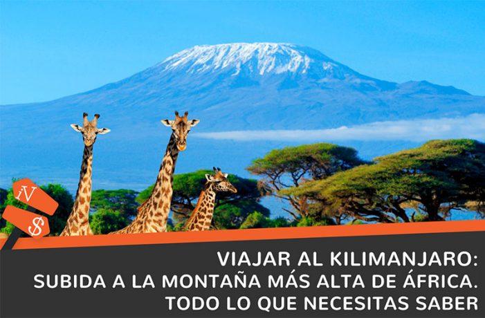 viajar al kilimanjaro subida a la montaña