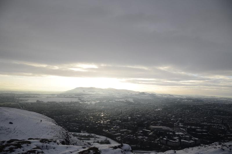 Viajar a Edimburgo en invierno