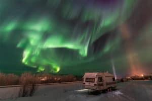 donde ver las auroras boreales