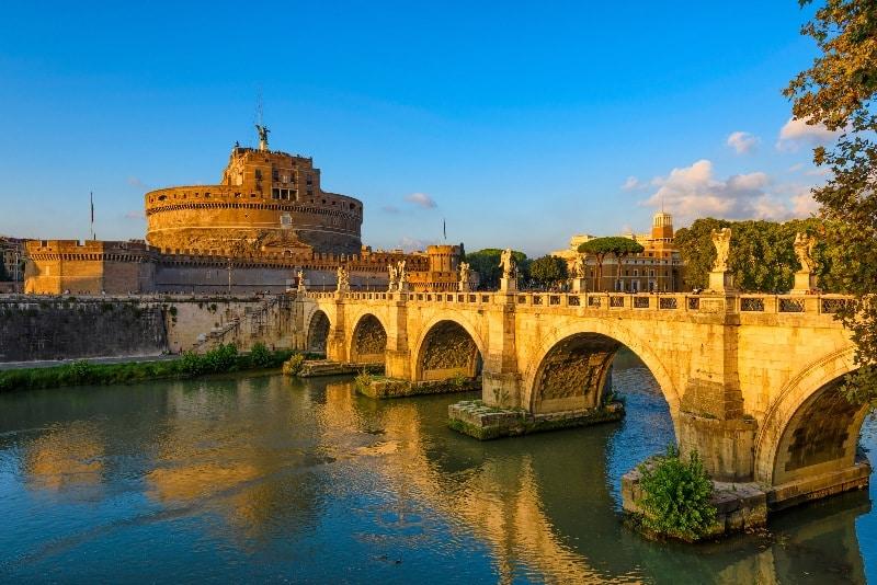 Viajar a Roma para ver el río Tévere