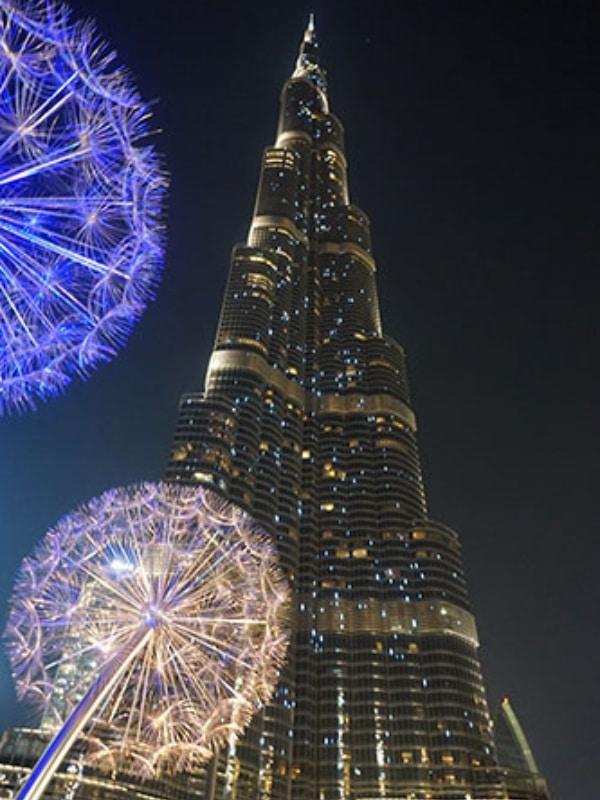 Dubai-burj-khalifa-de-noche